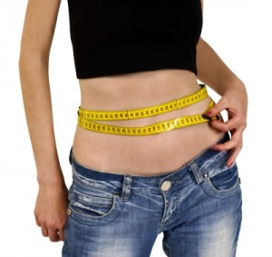 Measuring Stomach while dieting